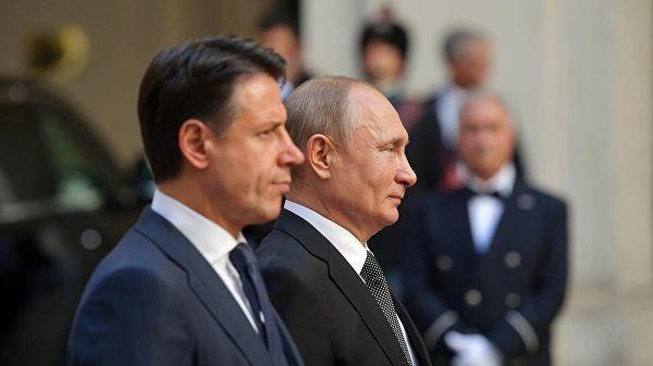 Путин: Русија очекује од Италије да ће се борити за нормализацију односа између ЕУ и Русије