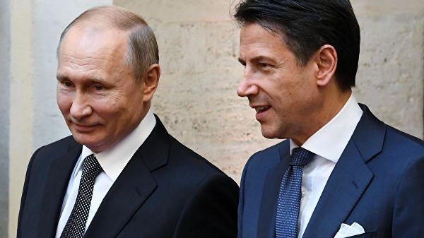 Конте: Преговори с Путином омогућили јачање односа између Русије и Италије