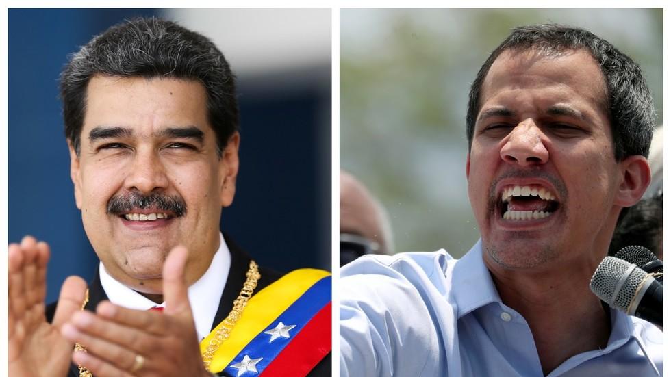 """РТ: Мадуро на Дан независности позвао на дијалог, док га је Гваидо назвао """"диктатором"""""""