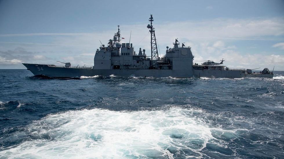 РТ: САД провокативно послале брод у Тајвански мореуз након што их је Кина означила регионалном претњом