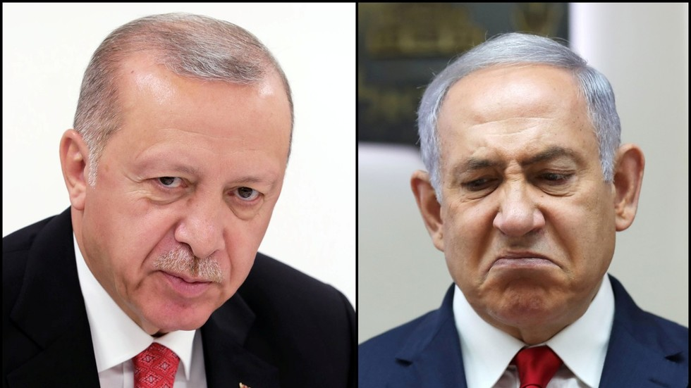 """РТ: """"Ко год је на страни Израела, нека сви знају да смо против њих"""": Ердоган осудио Нетанијахуа и САД због убистава Палестинаца"""