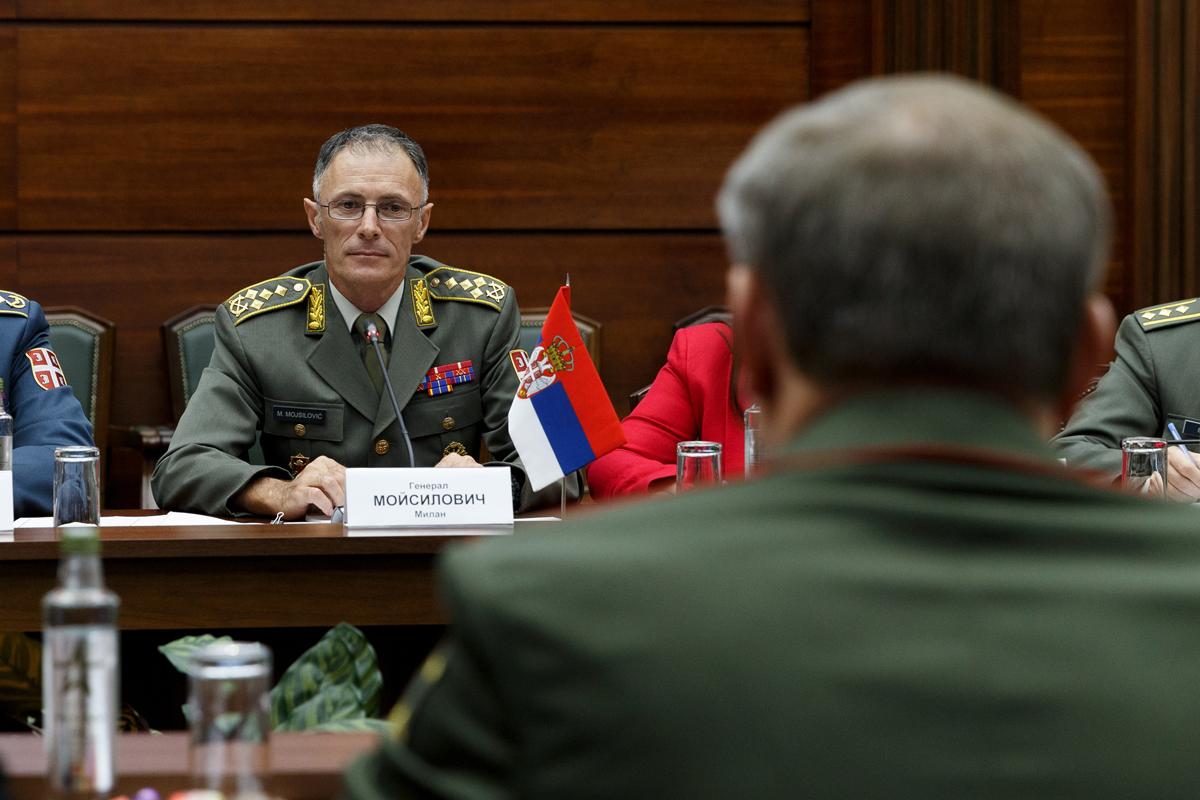 Генерал Мојсиловић: Србија има подршку руске војске за изазове на Косову и Метохији