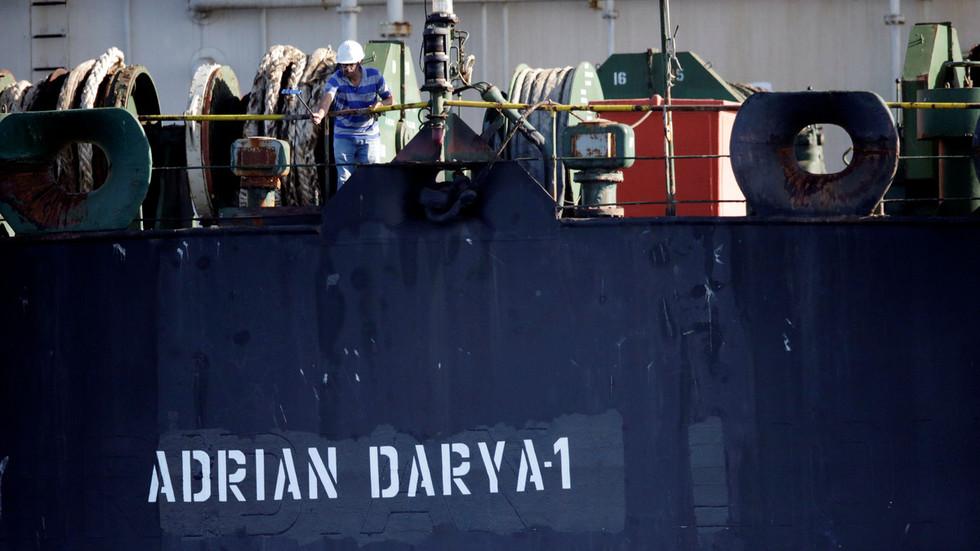 RT: Iran upozorio SAD da ponovo ne zaplenjuju tanker koji je Gibraltar pustio, dok plovi za Grčku