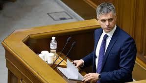 Нови шеф украјинске дипломатије: Постоји Русија, постоји агресор