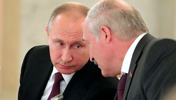 Lukašenko i Putin razgovarali o bilateralnim odnosima i međunarodnim pitanjima
