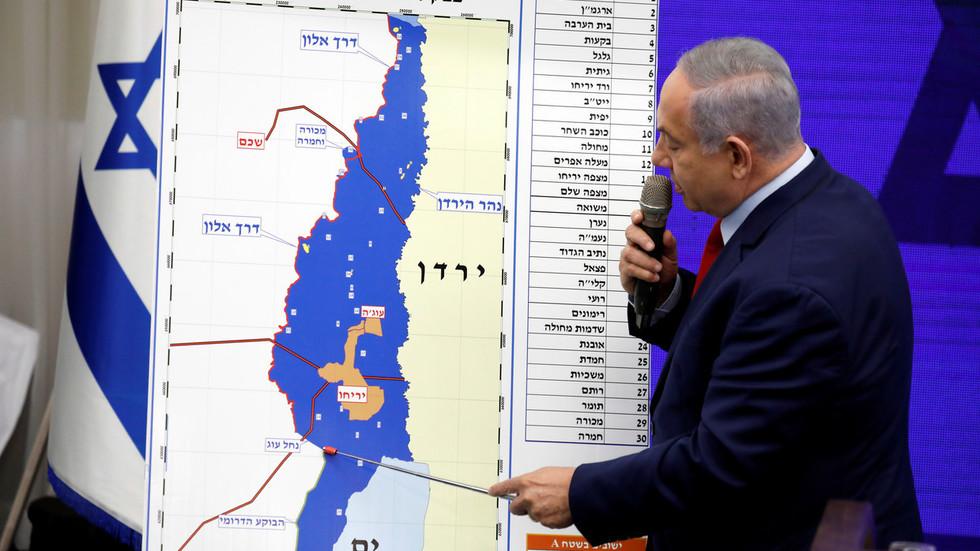 РТ: Нетанијаху обећао да ће анктирати долину Јордана после избора