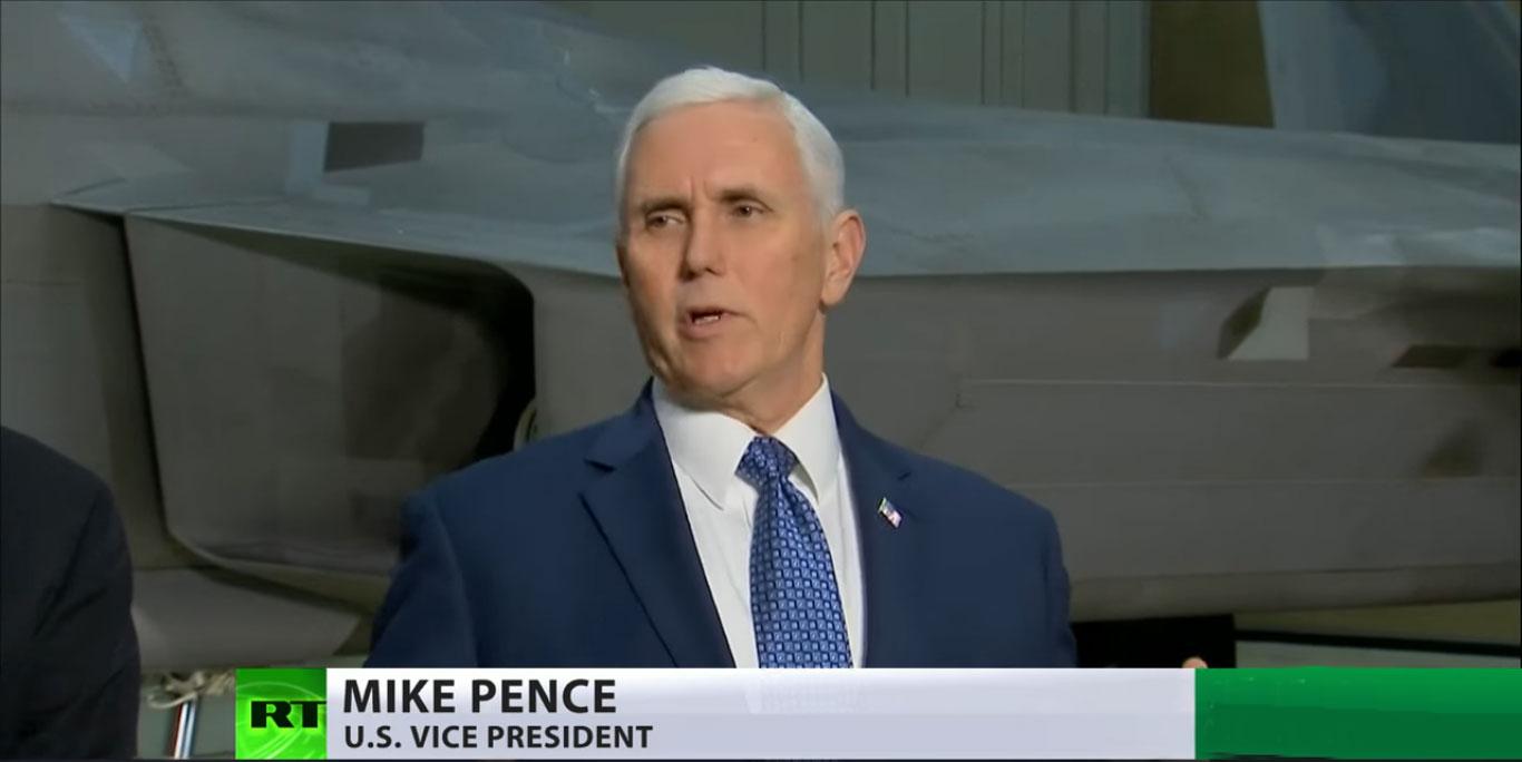 Пенс: САД спремне за рат