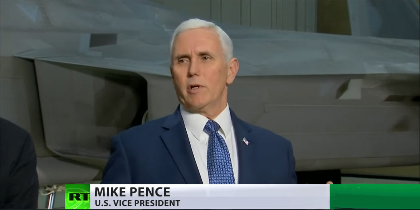Пенс: Бранићемо наше интересе и стаћемо уз наше савезнике