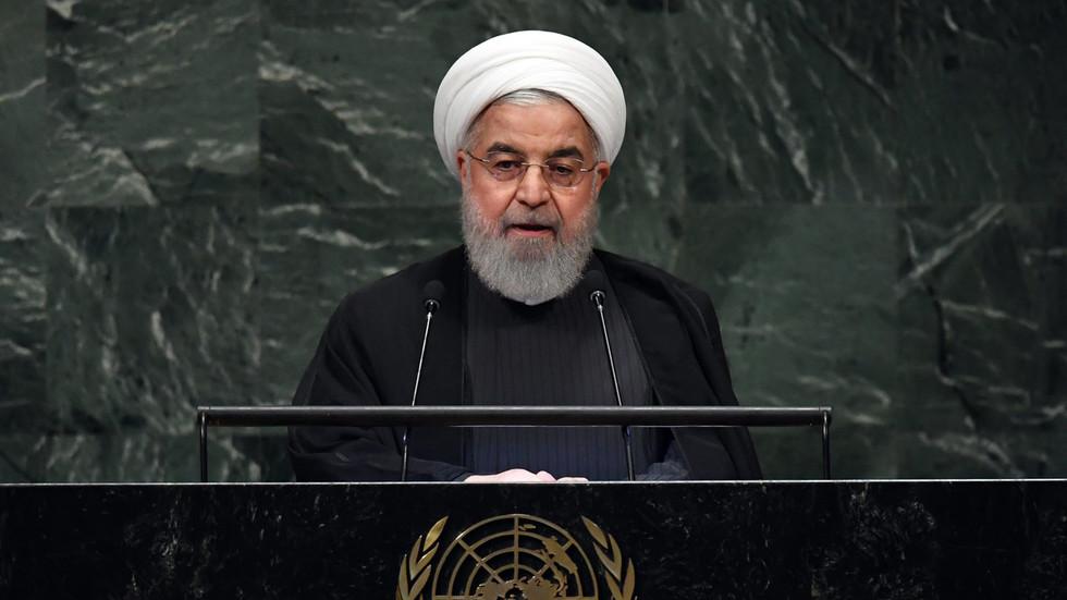 """РТ: """"Не шаљите ратне авионе и бомбе"""": Рохани ће представити """"мировни план"""" за Персијски залив у УН-у"""