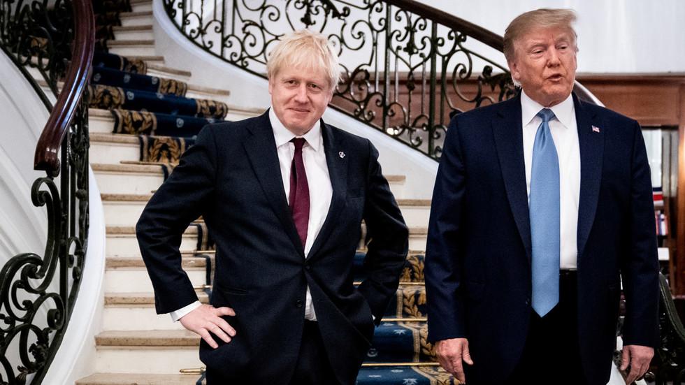 РТ: Пратећи кораке САД? Џонсон позива на