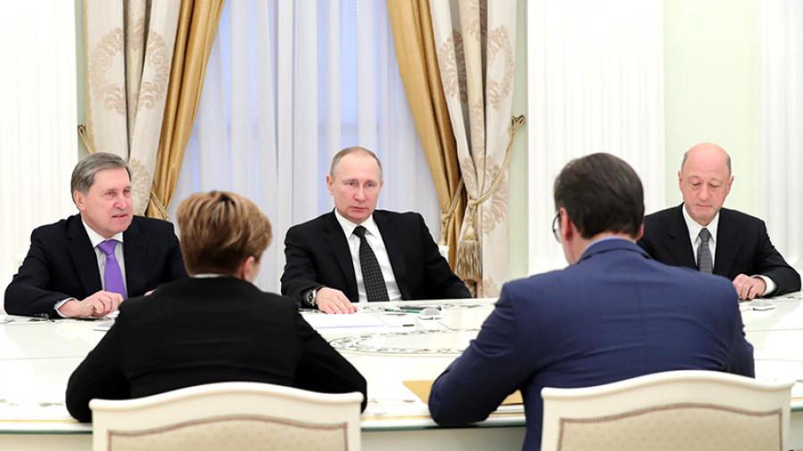 Састанак Путина и Вучића у Москви до краја године о најважнијим питањима, а посебно о Косову и Метохији