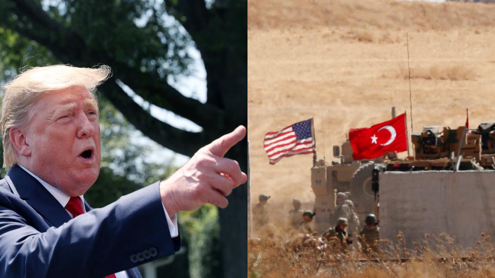 """RT: Tramp zapretio da će """"uništiti"""" ekonomiju Turske ako """"pređe granice"""""""