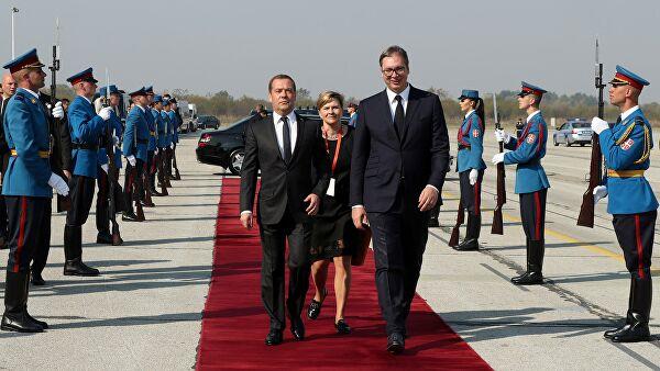 Rusija i Srbija potpisale niz sporazuma