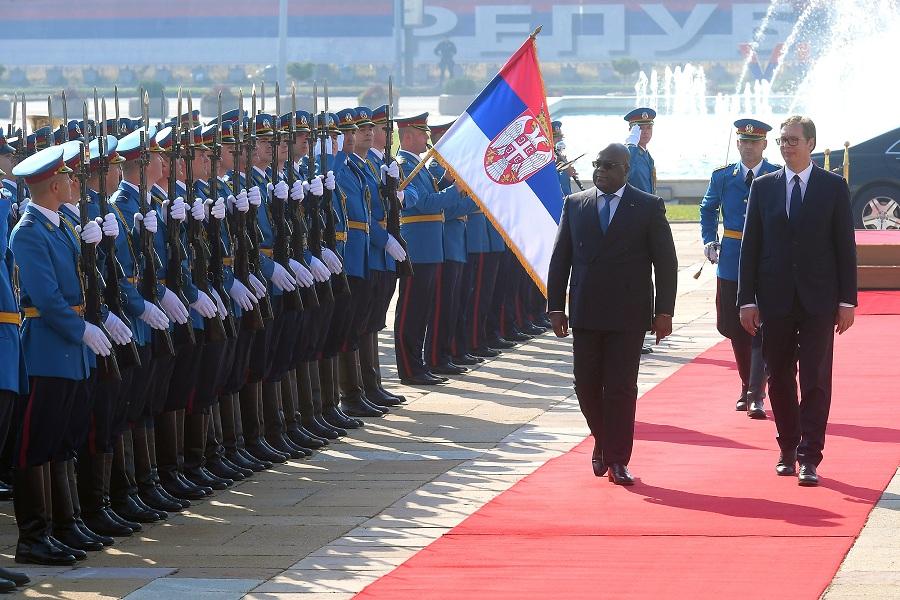 """""""Kongo spreman da podrži Srbiju u svim njenim poduhvatima, bilo na međunarodnom ili regionalnom nivou"""""""