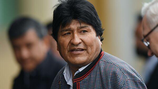 Ево Моралес прихватио азил у Мексику