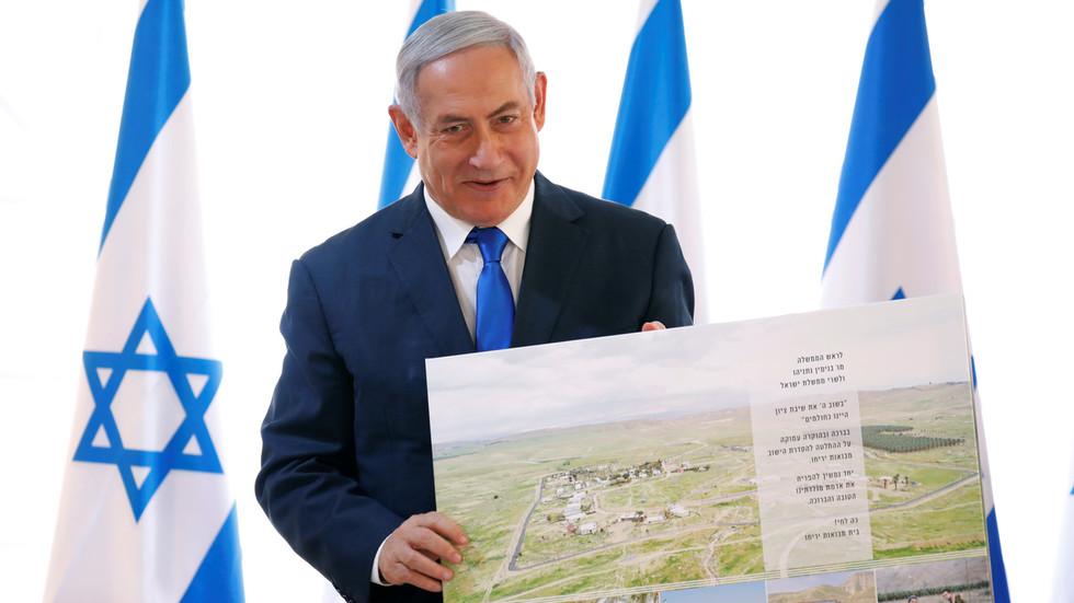 """РТ: Нетанијаху тражи америчко признање """"плана анексије"""" Јорданске долине након што је Вашингтон негирао да је икад о томе разговарано"""