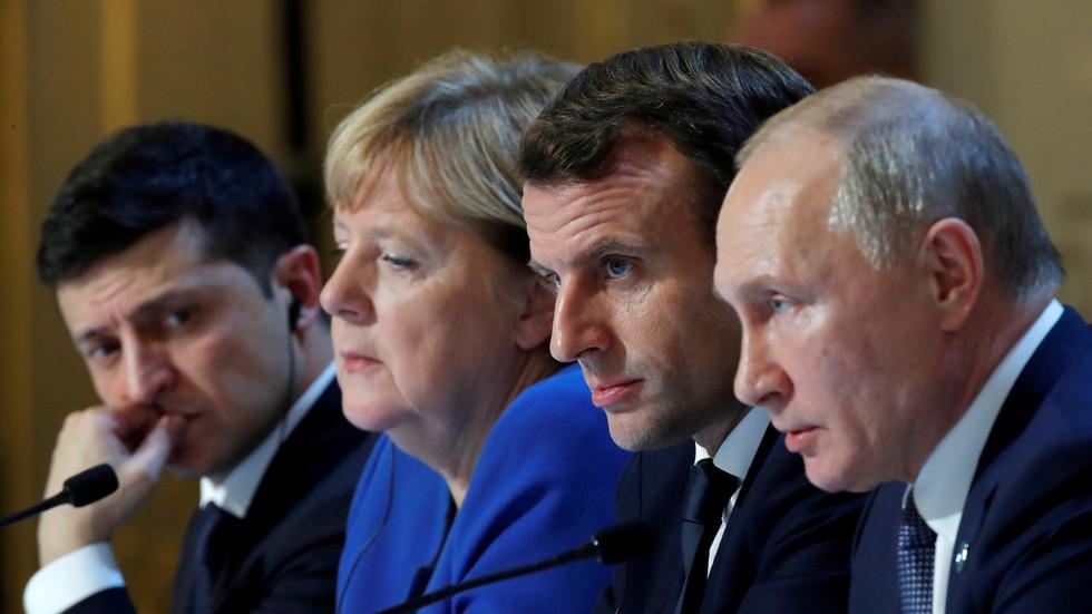 РТ: Нормандијска четворка договорила стабилизацију ситуације у Донбасу
