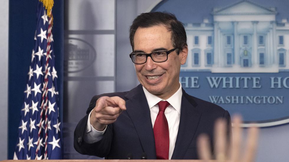 РТ: Министар финансија САД каже да су санкције алтернатива војним конфликтима