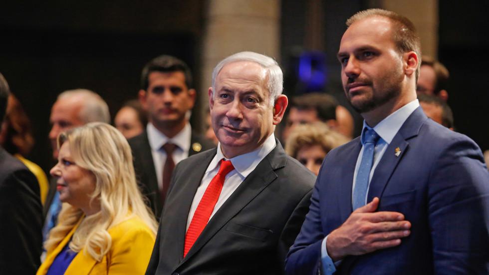 РТ: Бразил ће преселити амбасаду из Тел Авива у Јерусалим - Болсонаров син