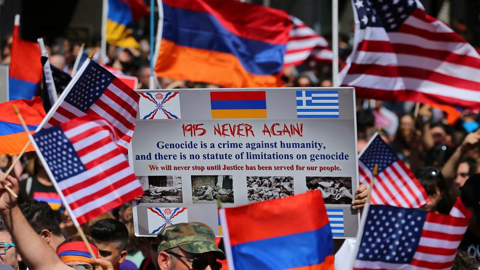 РТ: Трaмпoва администрација не признаје геноцид над Јерменима упркос резолуцији Сената - Стејт департмент