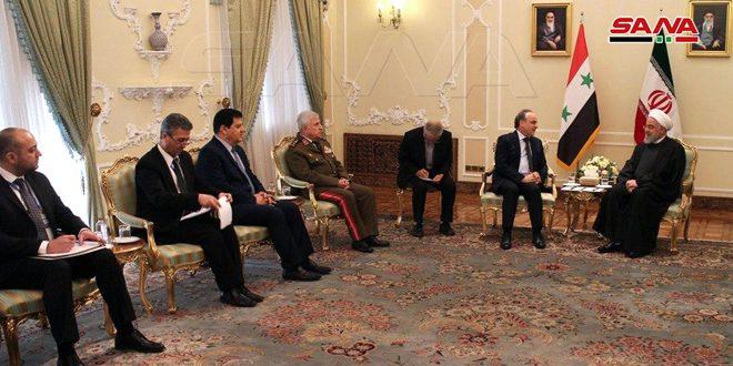 Иран и Сирија позвали да се народи и државе супротставе незаконитом присуству САД-а у региону