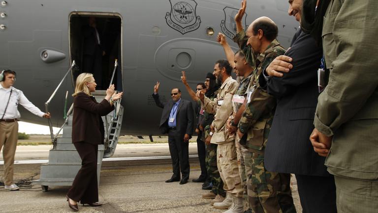 """РТ: Триполи позао Пентагон да распореди снаге у разорену Либију од стране НАТО-а... како би """"одвратили Русију"""""""