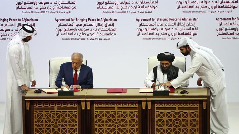 РТ: САД немају законско право да потписују мировни споразум са талибанима и одређују будућност Авганистана - Иран