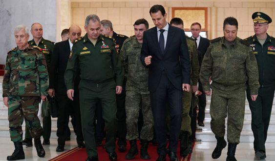 Шојгу и Асад размотрили унапређење војне сарадње и будуће заједничке кораке