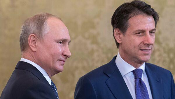Конте: Русија никада није тражила да искористи ситуацију, нити је икад на тако нешто помислила