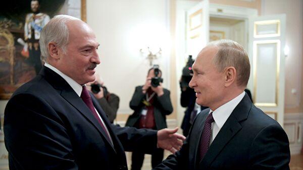 Путин и Лукашенко обавили разговарали о билатералним односима и сарадњи у оквиру интеграционих структура