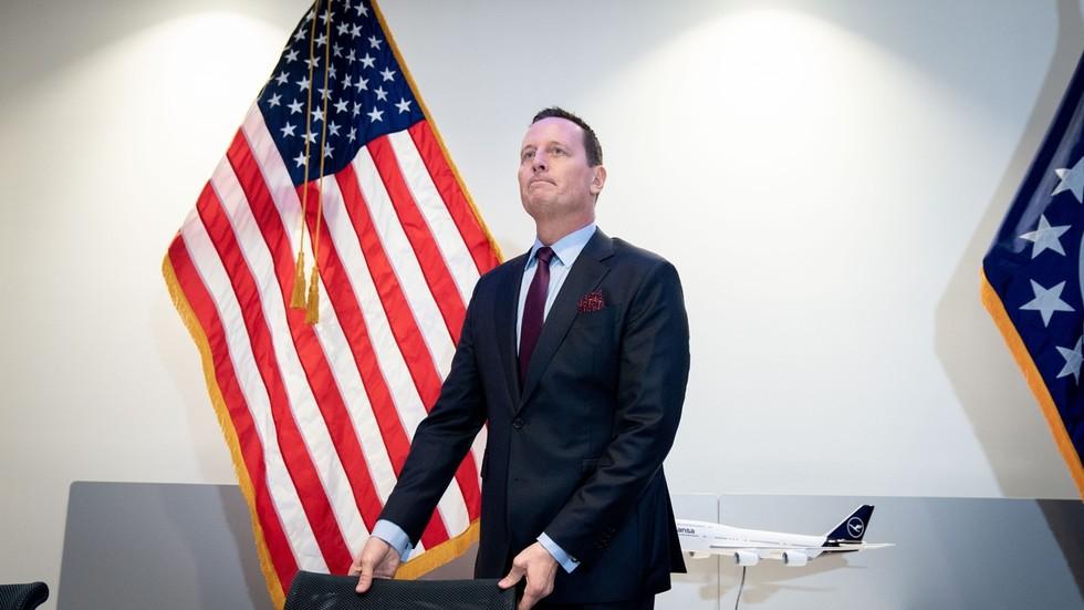 """РТ: """"То је америчка политика"""": Амбасадор САД-а у Немачкој се споречкао са послаником који је рекао да Гренел """"прети претње попут непријатељске силе"""""""