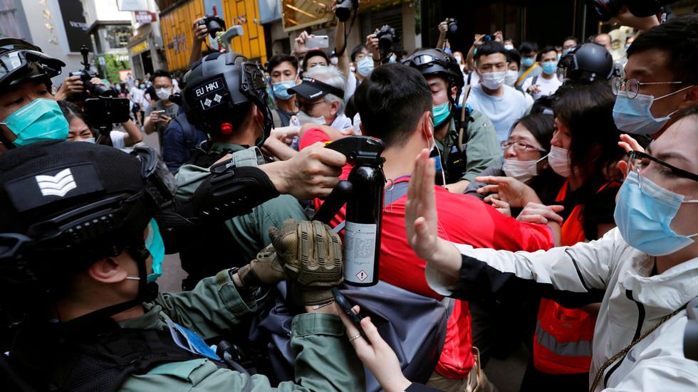 РТ: Кинески парламент усвојио Закон о националној безбедности усред протеста у Хонг Конгу