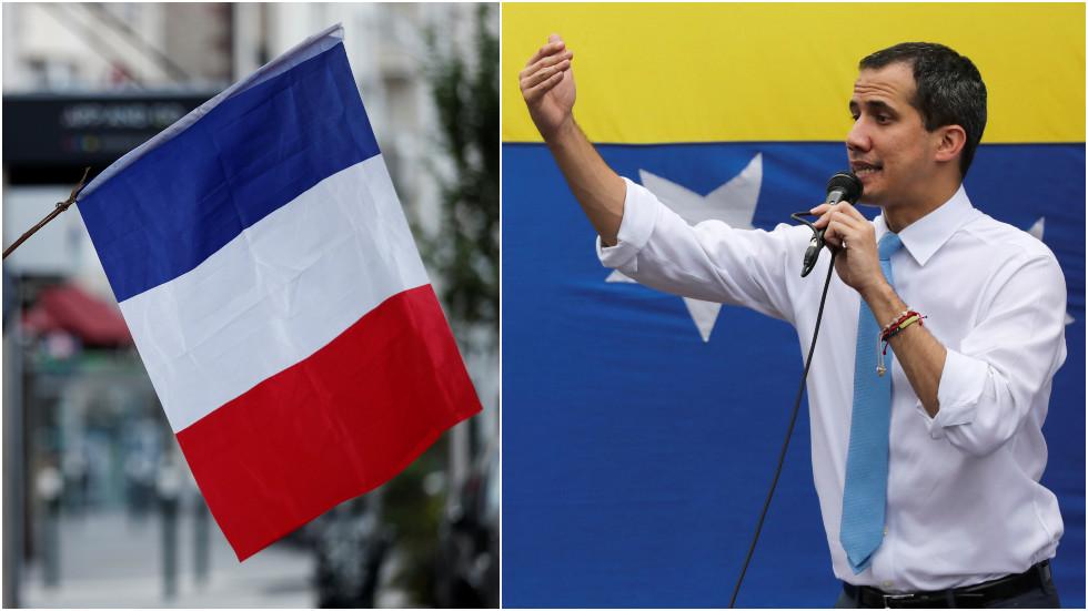 """РТ: Каракас саопштио да је Гваидо затворен у француској амбасади, те позива Париз да """"преда бегунаца"""""""