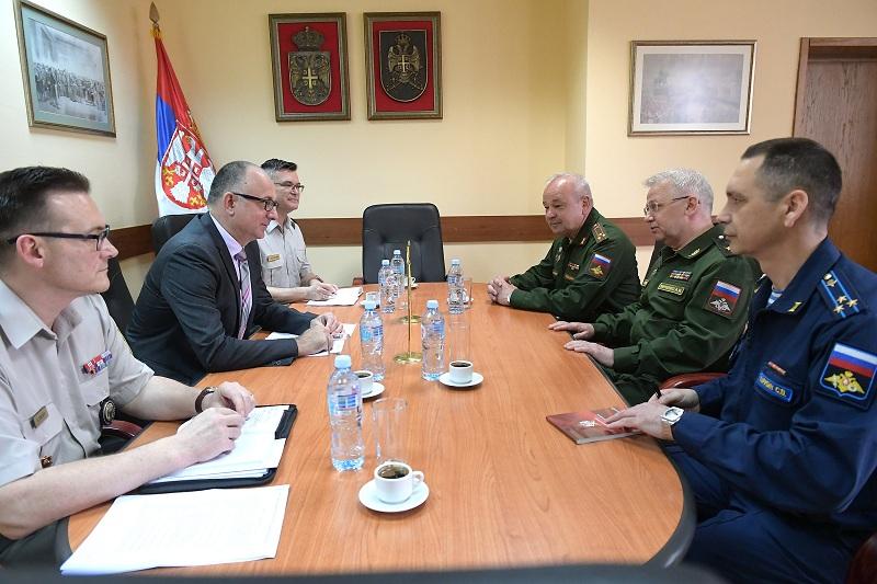 Србија опредељена за наставак, унапређење и интензивирање сарадње у области одбране са Русијом