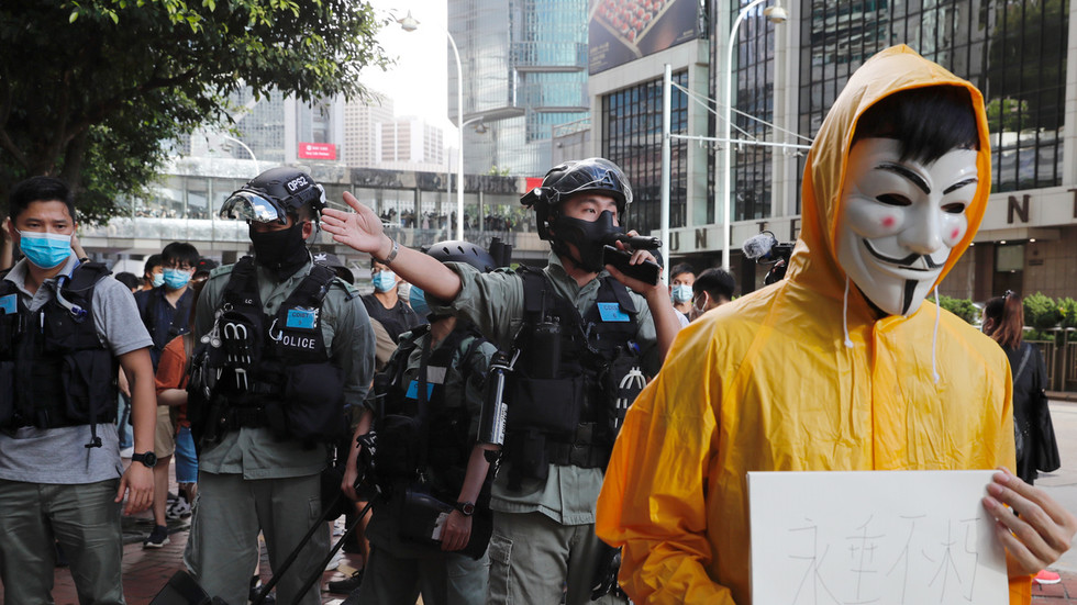 """РТ: Кина се """"одлучно противи"""" мешању САД-а и Г7 у питања Хонг Конга, након што је блок позвао на укиндање Закона о националној безбедности"""