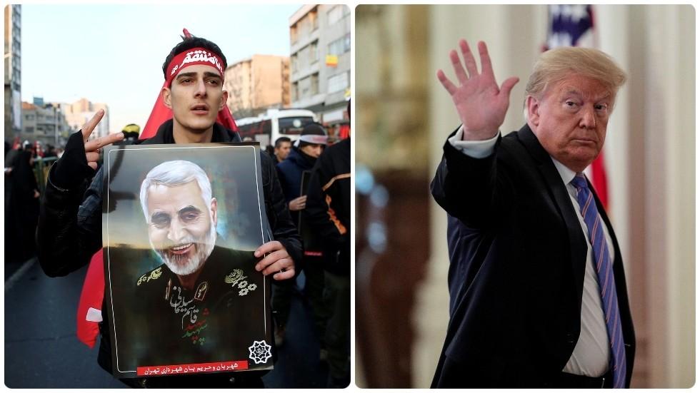 РТ: Иран издао налог за хапшење Трампа због убиства Сулејманија, те ће тражити од Интерпола да делује