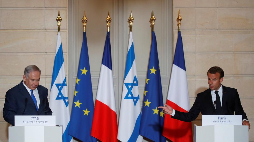 РТ: Мацрон позвао Израел да одустане од анексије Западне обале услед све веће међународне кризе