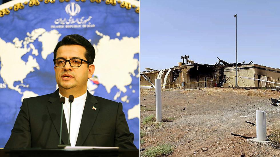 РТ: Иран упозорио на последице према било којој страној сили која би могла бити умешана у инцидент на нуклеарном постројењу