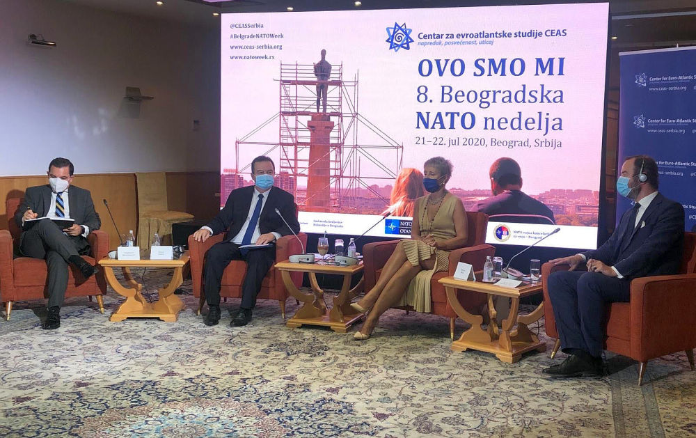 Србија опредељена за даљи развој сарадње са НАТО