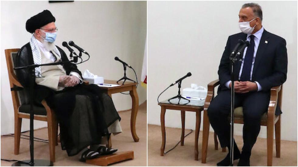 """РТ: """"Никада нећемо заборавити"""": Хамнеј на састанку са ирачким премијером обећао """"удар на САД"""" у знак освете за убиство генерала Сулејманија"""