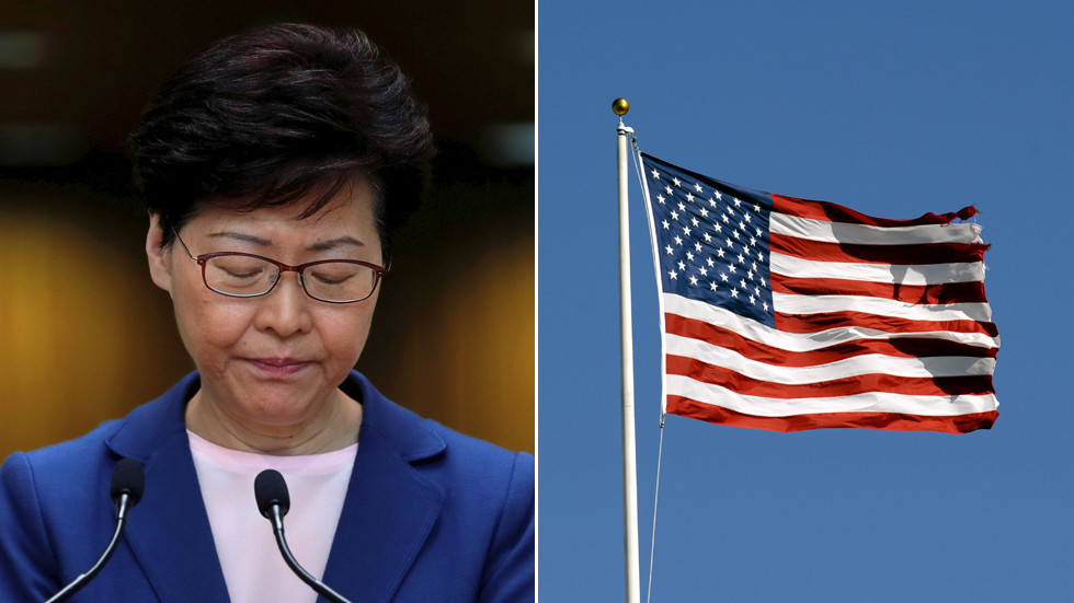 РТ: САД увеле санкције премијеру Хонг Конга и другим кинеским званичницима