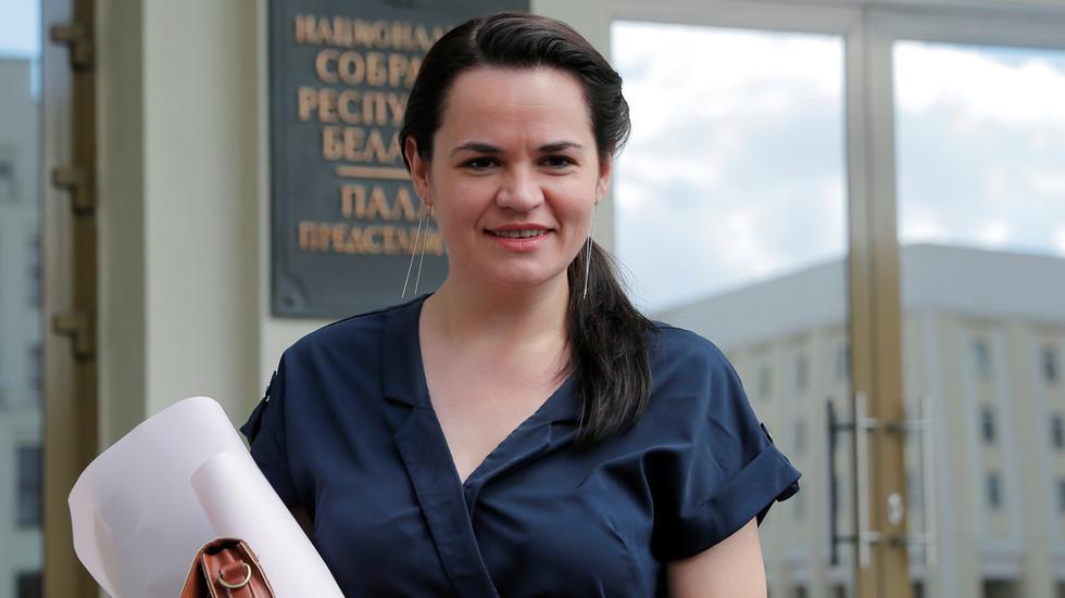 """РТ: Белоруски опозициони лидер Тихановскаја је """"сигурна"""" у Литванији, наводи премијер балтичке земље"""