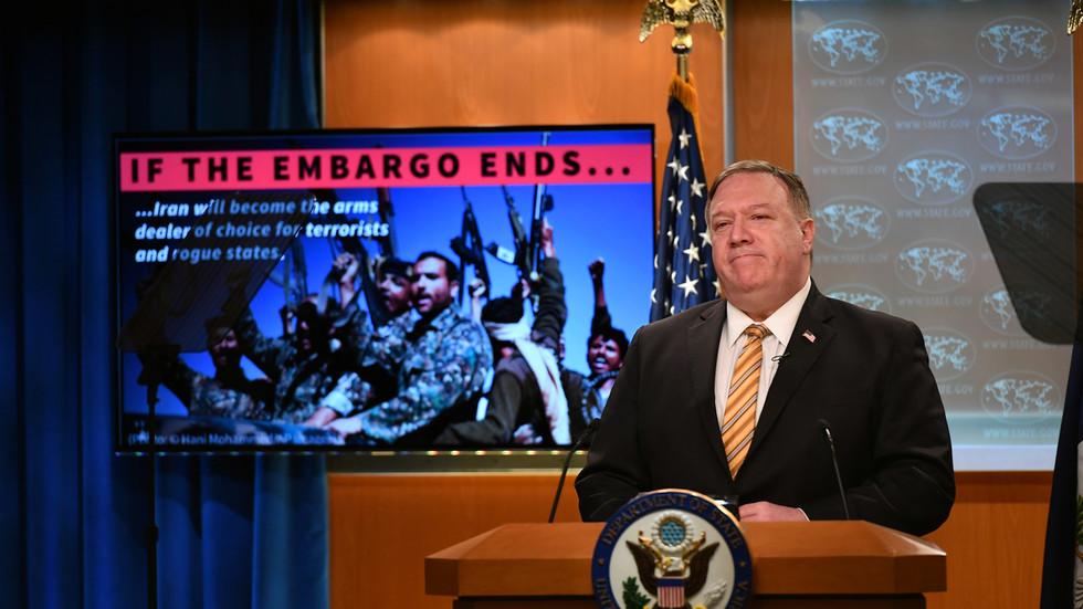 """РТ: Помпеа исмејали због изјаве да """"ниједна држава"""" не може блокирати санкције које САД желе да наметну Ирану упркос противљењу СБ УН-а"""
