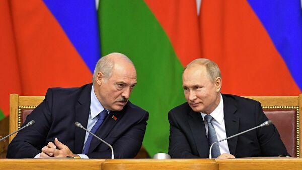 Путин и Лукашенко координишу своје акције у оквиру споразума Савеза Русије и Белорусије, укључујући и ОДКБ
