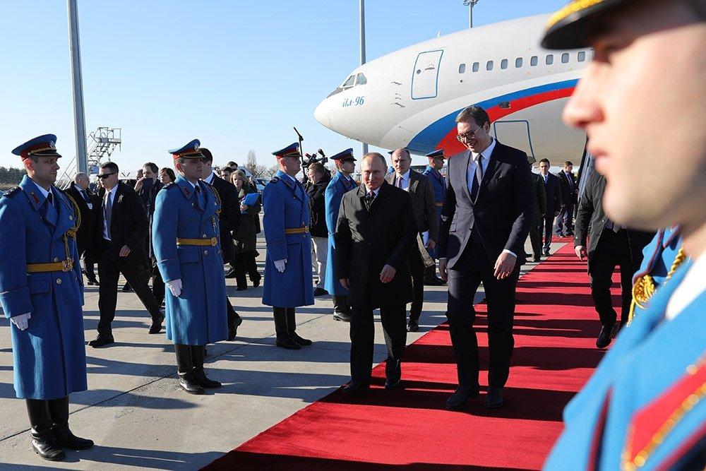 Србија oчекује посету председника Владимира Путина у октобру