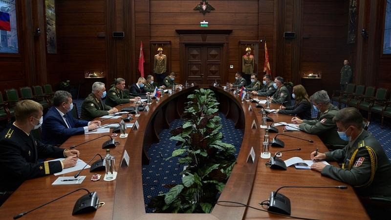 Сусрет начелника генералштабова Војске Србије и Оружаних снага Руске Федерације