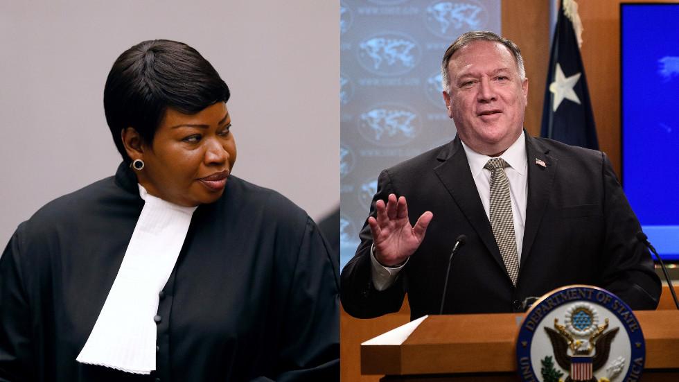 """РТ: ЕУ и Француска позвале САД да укину """"неприхватљиве"""" санкције против истражитеља ратних злочина Међународног кривичног суда"""