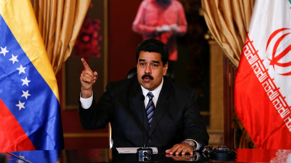 """РТ: """"Без икаквог упоришта у међународном праву"""": Венецуела осудила санкције САД-а против Мадура и Ирана као """"непрекидну агресију"""""""