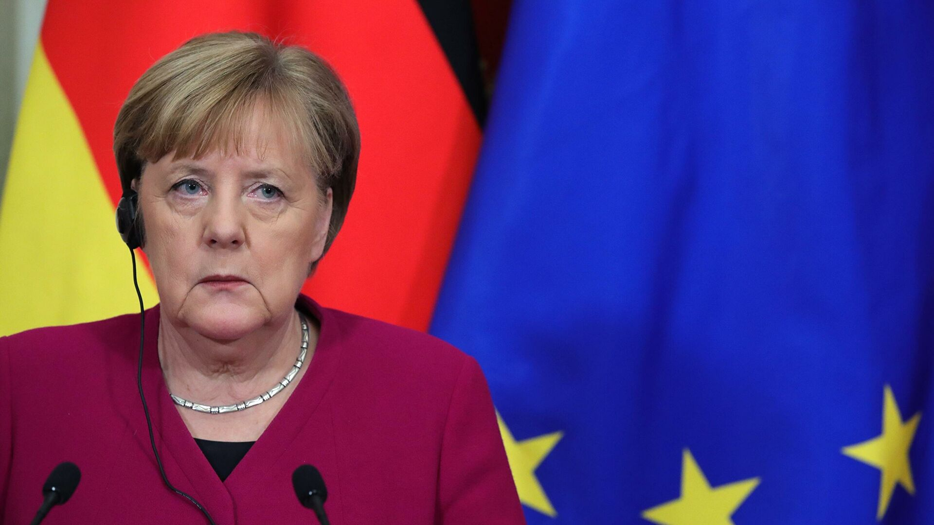 Merkelova: Ne priznajemo Lukašenka za predsednika