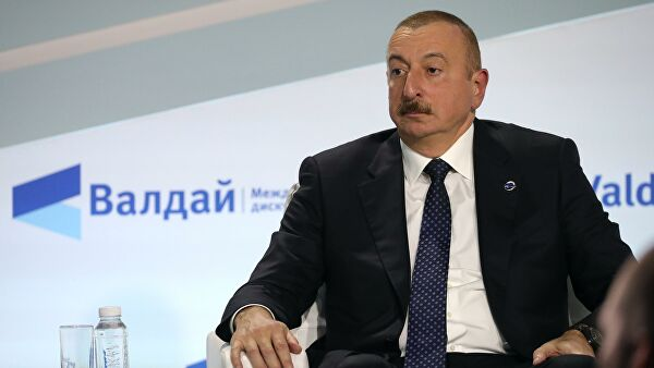 Алијев: Русија се понаша као велика и одговорна земља